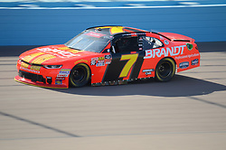 November 10, 2018 - Phoenix, Arizona, U.S. - PHOENIX, AZ - NOVEMBER 10:  Xfinity Series playoff contender Justin Allgaier (7) BRANDT Chevrolet on the track during qualifying session at the NASCAR Xfinity Series Playoff Race - Whelen 200  on November 10, 2018 at ISM Raceway in Phoenix, AZ.  (Photo by Lyle Setter/Icon Sportswire) (Credit Image: © Lyle Setter/Icon SMI via ZUMA Press)