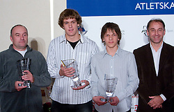 Coach Slavko Malnar, Jaka Zulic, Jaka Muhar or Ziga Zepic ? at Best Slovenian athlete of the year ceremony, on November 15, 2008 in Hotel Lev, Ljubljana, Slovenia. (Photo by Vid Ponikvar / Sportida)