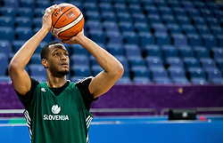 Anthony Randolph of Slovenia at training session during of the FIBA EuroBasket 2017 at Hartwall Arena in Helsinki, Finland on September 4, 2017. Photo by Vid Ponikvar / Sportida