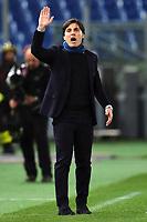 Vincenzo Montella Sampdoria <br /> Roma 07-02-2016 Stadio Olimpico, Football Calcio 2015/2016 Serie A. AS Roma - Sampdoria . Foto Andrea Staccioli / Insidefoto