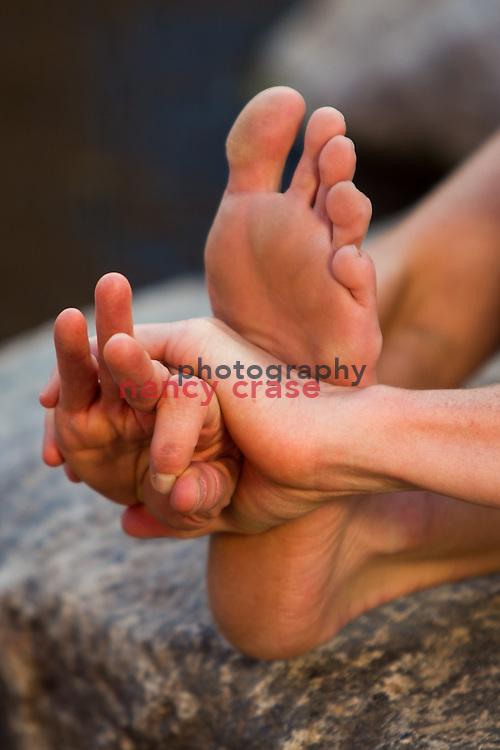 Yoga at Summit Adventure Workshop in Jackson Hole, WY on Sept 24, 2013<br /> <br />  Karla Steinmeier