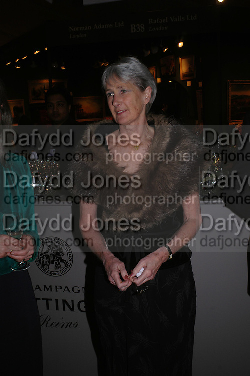 Diana Sabin. BADA Antiques &amp; Fine Art Fair - gala evening <br />