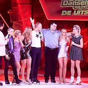 NLD/Hilversum/20130202 - 6de liveshow Sterren Dansen op het IJs 2013, Monsif Bakkali en schaatspartner Patti Petrus, Gaby Blaaser en schaatspartner, Benoit Richaud en Jarno Harms en schaatspartner Katy Stainsby