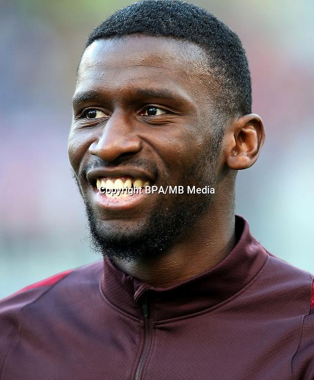 Italian League Serie A -2016-2017 / <br /> ( AS Roma ) - <br /> Antonio Rudiger