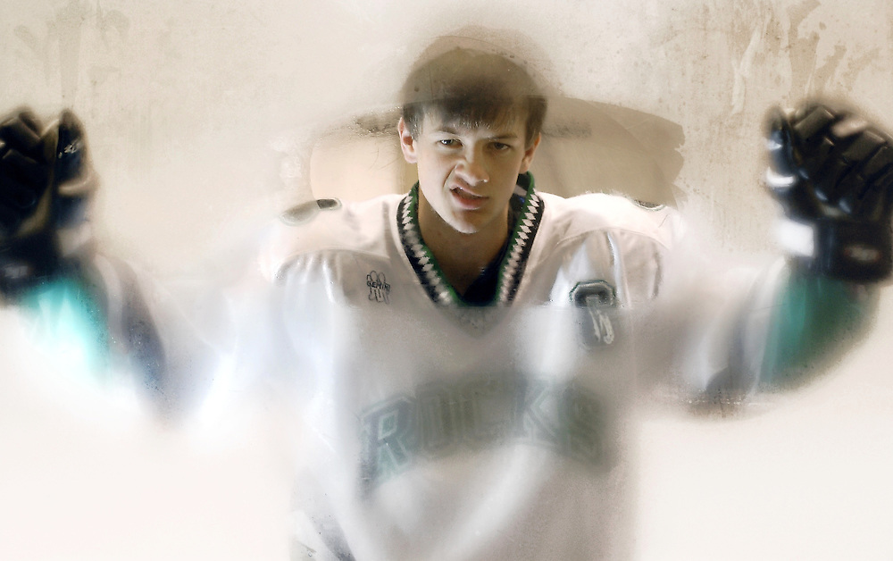 Hard-nosed Dublin Coffman senior forward Zach Anderson does most of the dirty work that helps make his team so successful.