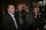 Lord Andrew Lloyd Webber, Pete Townsend, Ken and Elise Russell, The South Bank Show Awards, Savoy Hotel. London. 23 January 2007.  -DO NOT ARCHIVE-© Copyright Photograph by Dafydd Jones. 248 Clapham Rd. London SW9 0PZ. Tel 0207 820 0771. www.dafjones.com.