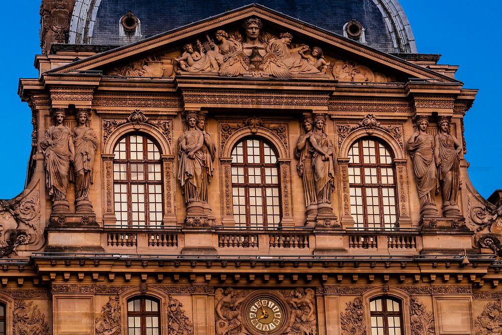 Louvre Palace (musuem), Paris, France.