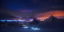 Patrouille des Glacier 2012.Impressionen auf der Tete Blanche während der 2012 PDG.. ..Region, Europe, Switzerland, Arolla, Tete Blanche 3700müM