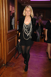 OLYMPIA SCARRY at an auction in aid of The Parkinson's Appeal for Deep Brain Stimulation 'Meeting of Minds' held at Christie's, King Street, London SW1 followed by a dinner at St.John, 26 St.John Street, London on 16th October 2007.<br />