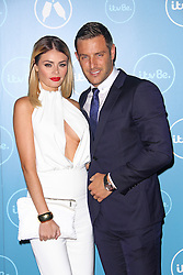 © Licensed to London News Pictures. 07/10/2014, UK. Chloe Sims & Elliott Wright, ITVBe - Launch Party, ITV Studios Southbank, London UK, 07 October 2014. Photo credit : Brett D. Cove/Piqtured/LNP