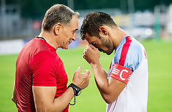 Panagiotis Korbos of Panionios GSS during 2nd Leg football match between ND Gorica (SLO) and Panionios GSS (GRE) in 2nd Qualifying Round of UEFA Europa League 2017/18, on July 20, 2017 in Nova Gorica, Slovenia. Photo by Vid Ponikvar / Sportida
