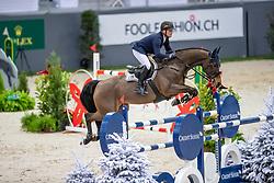 JUNG Michael (GER), fischerChelsea  <br /> Genf - CHI Rolex Grand Slam 2018<br /> Preis der Kommune Geneve<br /> 2-Phasen Springen<br /> 06. Dezember 2018<br /> © www.sportfotos-lafrentz.de/Stefan Lafrentz