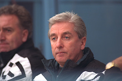COVENTRY, ENGLAND - Saturday, April 6, 1996: Liverpool's manager Roy Evans on the bench against Coventry City during the Premiership match at Highfield Road. Coventry won 1-0. (Pic by David Rawcliffe/Propaganda)