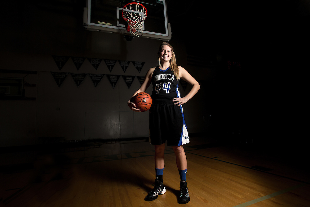 GABE GREEN/Press<br /> <br /> Coeur d&rsquo;Alene High School&rsquo;s Sydney Williams, a senior varsity basketball player, signed with the University of San Diego in November.