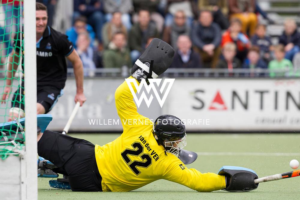 Eindhoven - OZ - HGC Heren, Hoofdklasse Hockey Heren, Seizoen 2015-2016, 30-04-2016, OZ - HGC, Sam van der Ven.