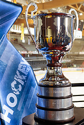 17.04.2018, Eiswelle, Bozen, ITA, EBEL, HCB Suedtirol Alperia vs EC Red Bull Salzburg, Finale, 6. Spiel, im Bild der EBEL Meisterpokal // the EBEL Champions Trophy during the Erste Bank Icehockey 6th final match between HCB Suedtirol Alperia and EC Red Bull Salzburg at the Eiswelle in Bozen, Italy on 2018/04/17. EXPA Pictures © 2018, PhotoCredit: EXPA/ Johann Groder