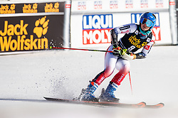 DIREZ Clara of France competes in 2nd Run during the Ladies' GiantSlalom at 56th Golden Fox event at Audi FIS Ski World Cup 2019/20, on February 15, 2020 in Podkoren, Kranjska Gora, Slovenia. Photo by Matic Ritonja / Sportida