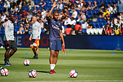 Kylian Mbappe (PSG) at warm up during the French championship L1 football match between Paris Saint-Germain (PSG) and SCO Angers, on August 25th, 2018 at Parc des Princes Stadium in Paris, France - Photo Stephane Allaman / ProSportsImages / DPPI