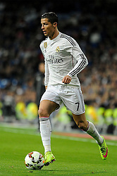 15.03.2015, Estadio Santiago Bernabeu, Madrid, ESP, Primera Division, Real Madrid vs UD Levante, 27. Runde, im Bild Real Madrid&acute;s Cristiano Ronaldo // during the Spanish Primera Division 27th round match between Real Madrid CF and UD Levante at the Estadio Santiago Bernabeu in Madrid, Spain on 2015/03/15. EXPA Pictures &copy; 2015, PhotoCredit: EXPA/ Alterphotos/ Luis Fernandez<br /> <br /> *****ATTENTION - OUT of ESP, SUI*****