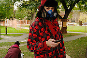 Aaron is one of the youngest regular Occupy memebers, is a graffitti artist and has a sad personal story about youth shelters. On the other hand he is a productive sign maker and vocal contributor at the General Assemblies. Occupy Windsor, Canada, October 2011.