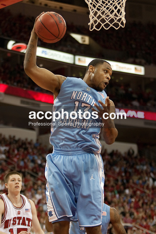26 January 2010: North Carolina Tar Heels forward Will Graves (13) during a 77-63 win over the North Carolina State Wolfpack at the RBC Center in Raleigh, NC.