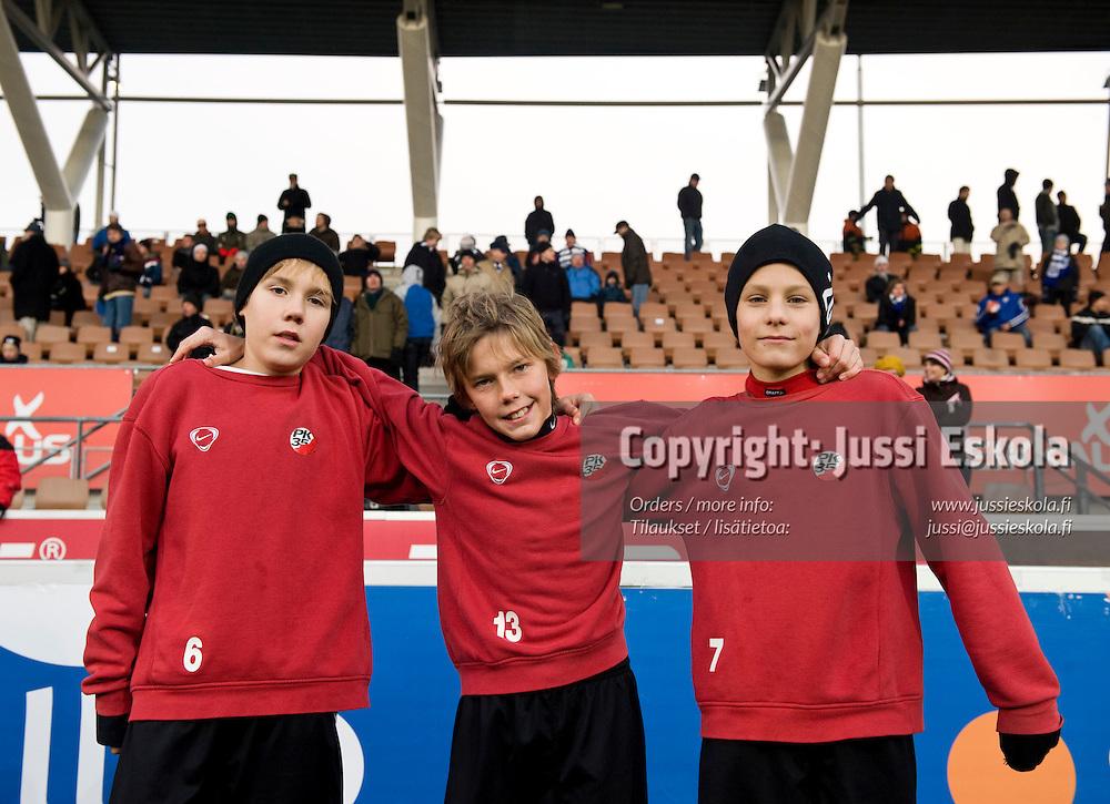Junnu Cup 1.11.2008. Helsinki. Photo: Jussi Eskola
