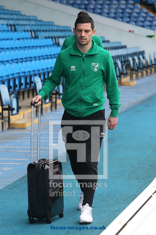 Graham Dorrans of Norwich before the Sky Bet Championship match at Elland Road, Leeds<br /> Picture by Paul Chesterton/Focus Images Ltd +44 7904 640267<br /> 29/04/2017