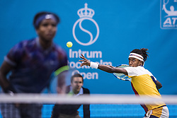 October 16, 2017 - Stockholm, SVERIGE - 171016 Sveriges Mikael Ymer och Elias Ymer i första omgÃ¥ngen av tennisturneringen Stockholm Open den 16 april 2017 i Stockholm  (Credit Image: © Johanna Lundberg/Bildbyran via ZUMA Wire)