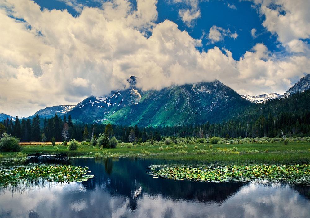 Lake Tahoe Landscape Mt Tallac