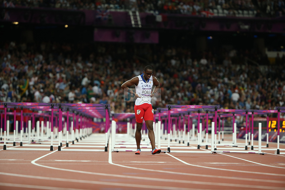 during track and field at the Olympic Stadium during day 12 of the London Olympic Games in London, England, United Kingdom on August 8, 2012..(Jed Jacobsohn/for The New York Times)..