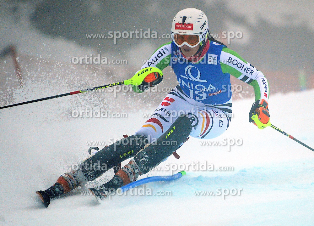 29.12.2013, Hochstein, Lienz, AUT, FIS Weltcup Ski Alpin, Lienz, Damen, Slalom 1. Durchgang, im Bild Christina Geiger (GER) // Christina Geiger (GER) during ladies Slalom 1st run of FIS Ski Alpine Worldcup at Hochstein in Lienz, Austria on 2013/12/29. EXPA Pictures © 2013, PhotoCredit: EXPA/ Erich Spiess