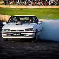 12 - Lee Wilson - BEANZ - 1992 Ford XF Falcon Ute - White - Cleveland