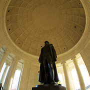 """""""I have sworn upon the altar of God eternal hostility against every form of tyranny over the mind of man"""" - the quote on the frieze just below the dome."""