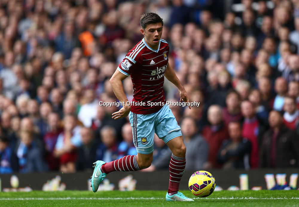25 October 2014 - Barclays Premier League - West Ham v Manchester City - Aaron Cresswell of West Ham - Photo: Marc Atkins / Offside.