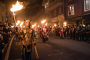 Lewes Bonfire Night Celebrations , November 5th 2016