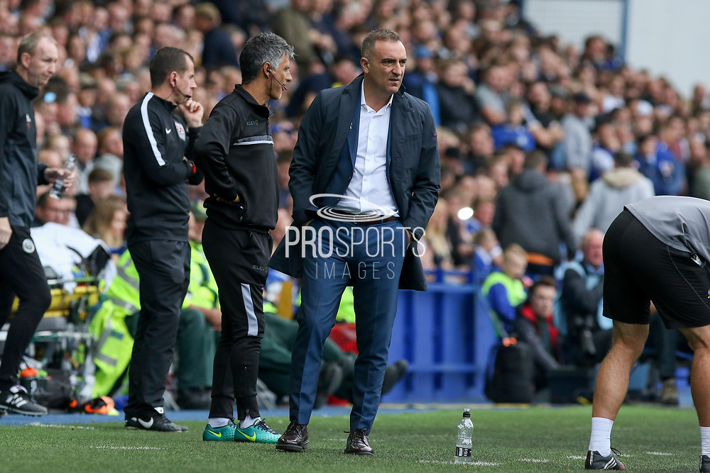 Sheffield Wednesday Manager Carlos Carvalhal during the EFL Sky Bet Championship match between Sheffield Wednesday and Sheffield Utd at Hillsborough, Sheffield, England on 24 September 2017. Photo by Phil Duncan.