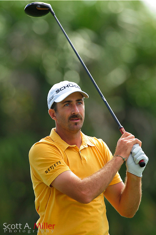 Geoff Ogilvy during the final round of the World Golf Championship Cadillac Championship on the TPC Blue Monster Course at Doral Golf Resort And Spa on March 11, 2012 in Doral, Fla. ..©2012 Scott A. Miller.