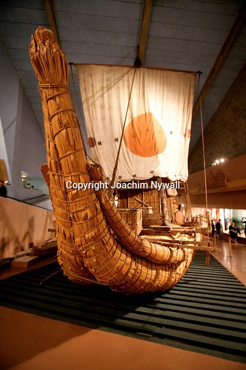 Oslo Norge 2006 07<br /> Kontiki Museet i Oslo<br /> <br /> <br /> ----<br /> FOTO : JOACHIM NYWALL KOD 0708840825_1<br /> COPYRIGHT JOACHIM NYWALL<br /> <br /> ***BETALBILD***<br /> Redovisas till <br /> NYWALL MEDIA AB<br /> Strandgatan 30<br /> 461 31 Trollh&auml;ttan<br /> Prislista enl BLF , om inget annat avtalas.