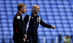 Jaap Stam manager of Reading and Eddie Howe manager of Bournemouth prowl the touchline during their side's preseason friendly - Mandatory by-line: Robbie Stephenson/JMP - 29/07/2016 - FOOTBALL - Madejski Stadium - Reading, England - Reading v AFC Bournemouth - Pre-season friendly