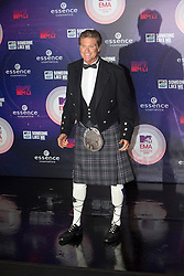 David Hasselhoff.<br /> Red carpet at the MTV EMA, Glasgow.