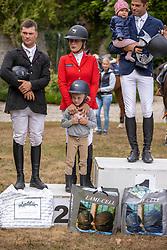 Podium 6-7 years, de Liedekerke-Meier Lara, Meier Chiara<br /> BK Seniors Arville 20202<br /> © Hippo Foto - Dirk Caremans<br />  23/08/2020
