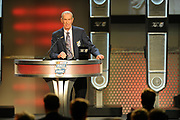 February 8, 2013: NASCAR Hall of Fame induction ceremony. Herb Thomas