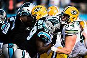 December 17, 2017: Carolina Panthers vs the Greenbay Packers. Thomas Davis