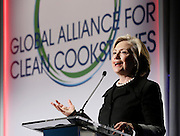 Global Alliance for Clean Cookstoves Summit in New York, Friday, Nov. 21, 2014. (Photo/Stuart Ramson for United Nations Foundation)
