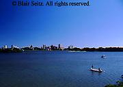 Harrisburg, PA, Susquehanna River, Harrisburg Skyline, Daytime