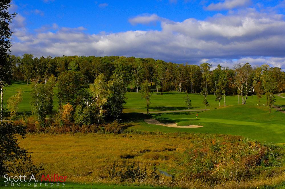 Sept. 19, 2006; Brainerd, Minn., USA; No. 16 on Golden Eagle Golf Club part of the Brainerd Golf Trail in Minnesota..                ©2006 Scott A. Miller