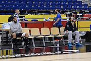 DESCRIZIONE: Berlino EuroBasket 2015 - Allenamento<br /> GIOCATORE:Danilo Gallinari Luigi Datome<br /> CATEGORIA: Allenamento<br /> SQUADRA: Italia Italy<br /> EVENTO:  EuroBasket 2015 <br /> GARA: Berlino EuroBasket 2015 - Allenamento<br /> DATA: 07-09-2015<br /> SPORT: Pallacanestro<br /> AUTORE: Agenzia Ciamillo-Castoria/M.Longo<br /> GALLERIA: FIP Nazionali 2015<br /> FOTONOTIZIA: Berlino EuroBasket 2015 - Allenamento