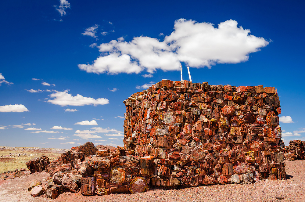 Agate House, Petrified Forest National Park, Arizona USA