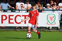 NEWPORT, WALES - Wednesday, July 25, 2018: Morgan Wigley during the Welsh Football Trust Cymru Cup 2018 at Dragon Park. (Pic by Paul Greenwood/Propaganda)