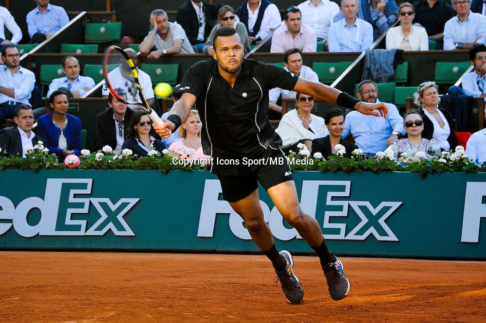 Jo Wilfried TSONGA  - 02.06.2015 - Jour 10 - Roland Garros 2015<br /> Photo : Nolwenn Le Gouic / Icon Sport